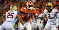 Clemson-BC Vegas odds released