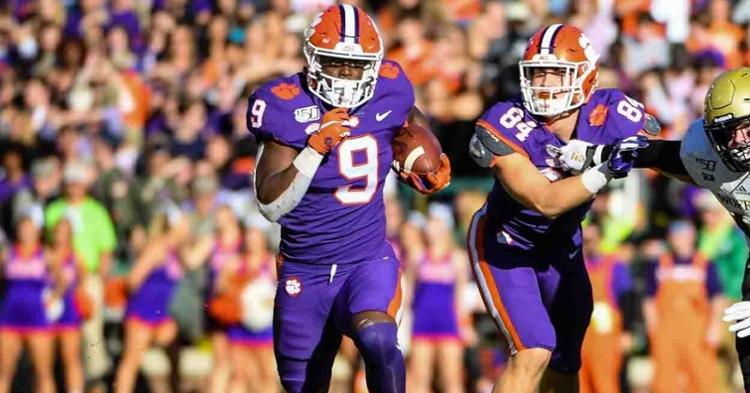 Etienne graduated and will leave as an all-timer at Clemson