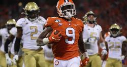 Travis Etienne named National Offensive Player of Week