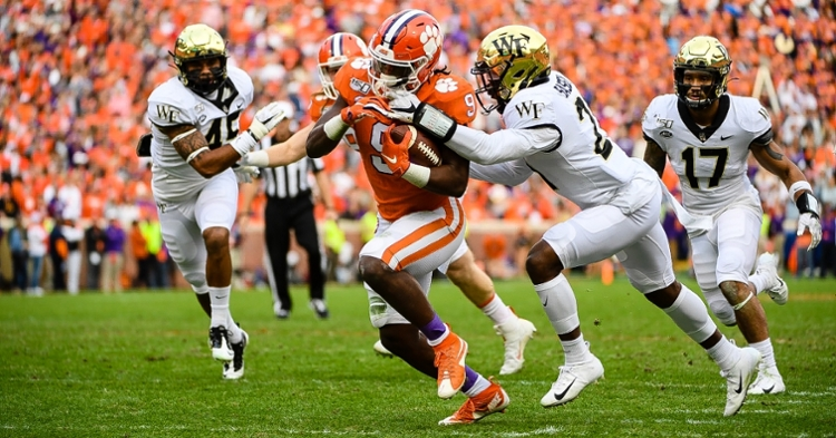 Playing time breakdown: Explosive Etienne fresh going into final stretch