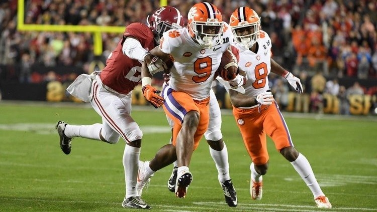 Etienne has a chance to set a few Clemson rushing records