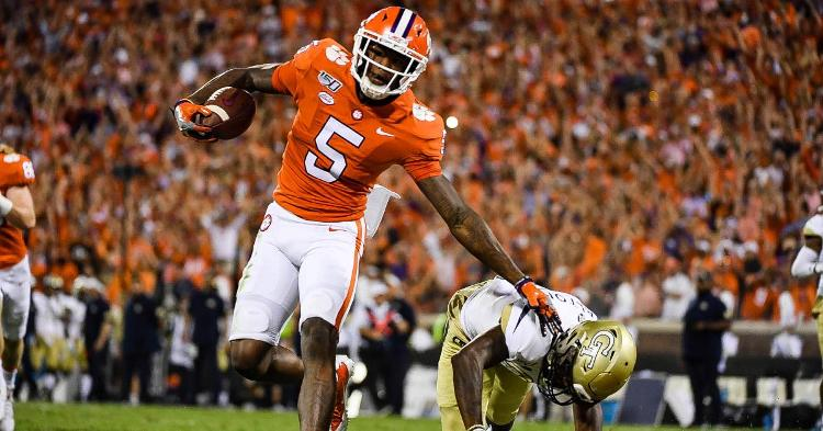 Clemson gives injury update on Tee Higgins