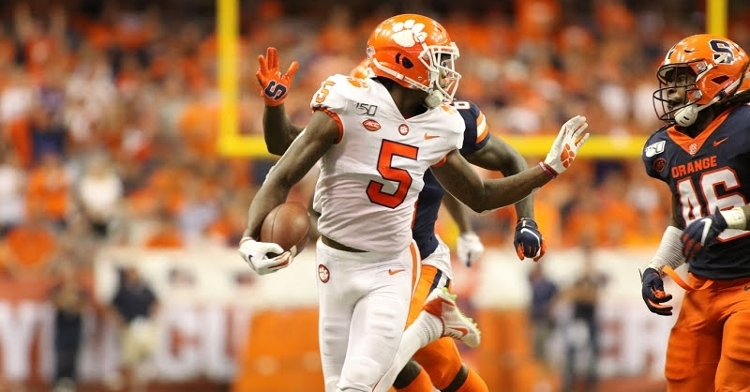 Clemson ranked No. 1 in latest AP Poll