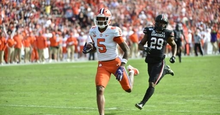 Clemson ranked No. 3 in latest AP Poll
