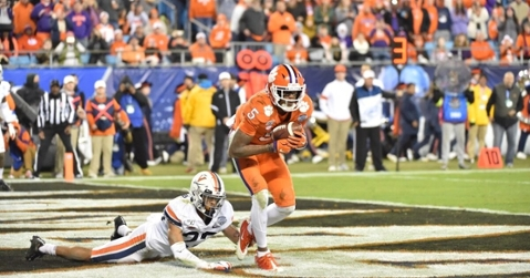 Clemson steamrolls Virginia to capture ACC title, secure College Football Playoff spot