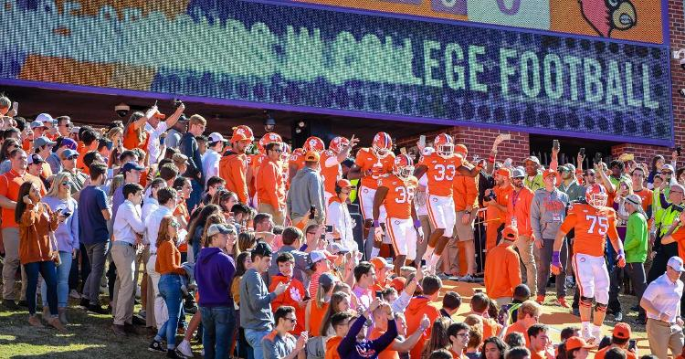 Clemson Athletics releases latest COVID-19 numbers