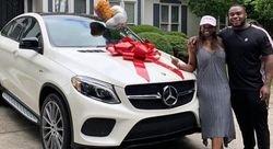 Former Clemson DT surprises mom with Mercedes SUV