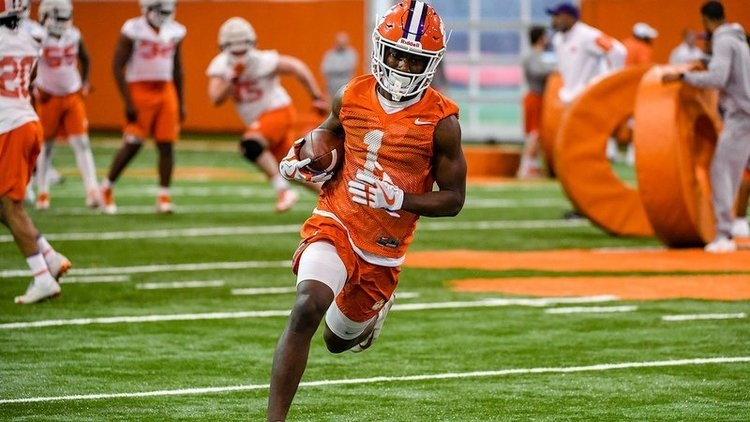Kendrick is one of the top athletes on the Clemson roster