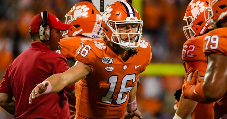 Best wishes to Trevor Lawrence on a full recovery