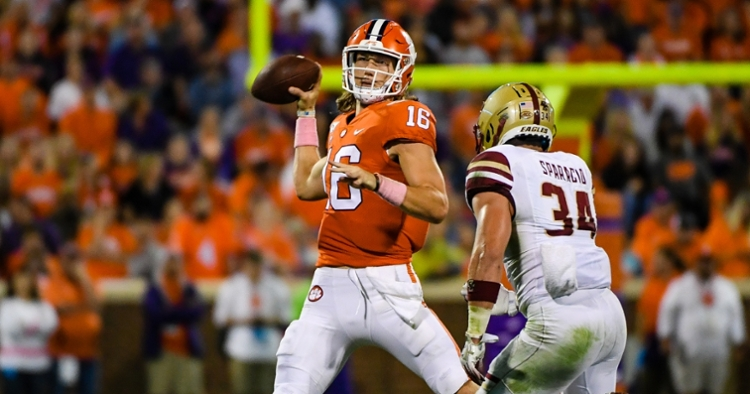 Breaking: Clemson-BC game time, TV announced | TigerNet