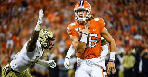Trevor Lawrence and the Tigers host FSU this weekend.