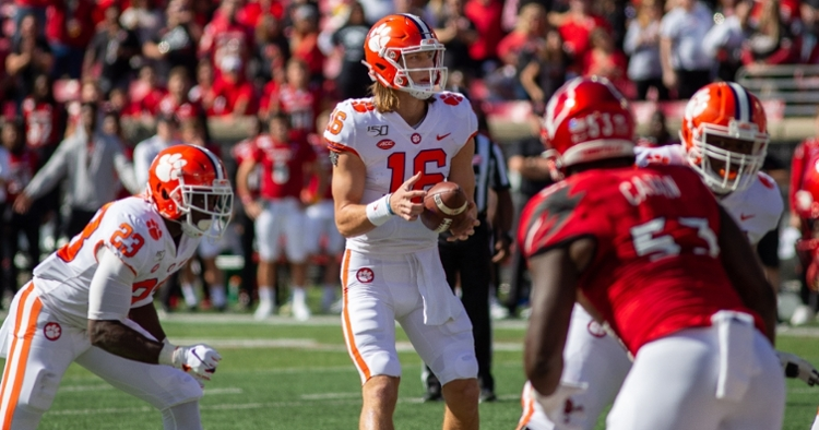 Trevor Lawrence overcame two early interceptions