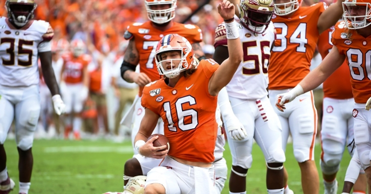 CFP Chairman on Clemson's support for being ranked No. 1