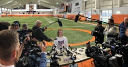Clemson Media Day Update: Injuries, business trip and Michael Vick
