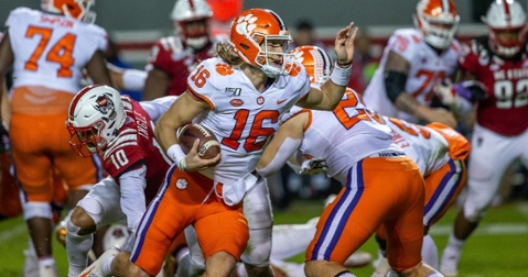 Trevor Lawrence and Clemson offense on record-shattering pace