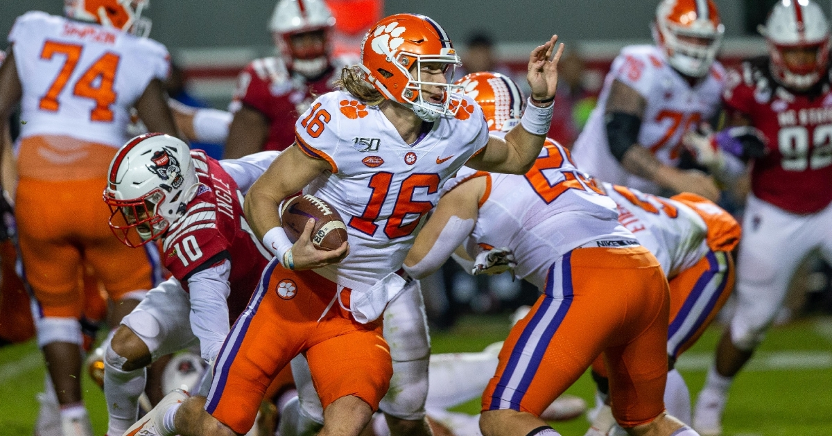 TNET: Trevor Lawrence and Clemson offense on record ...