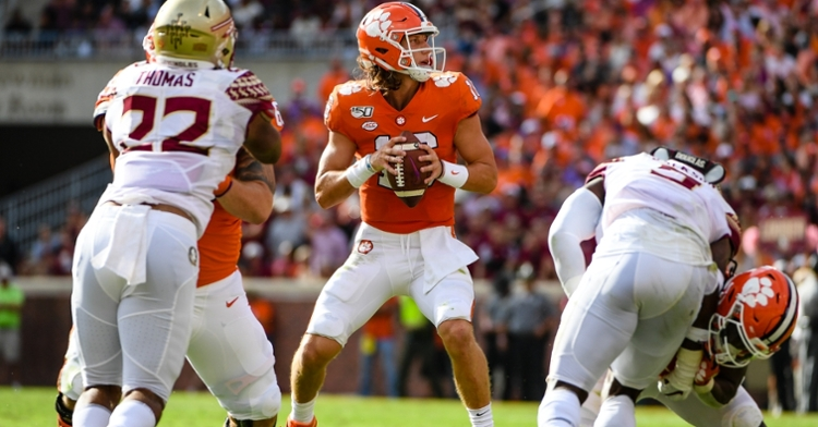 Clemson is a five-touchdown favorite over the once perennial division contenders.