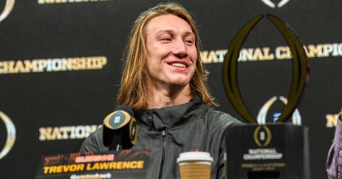 Trevor Lawrence is one of six sophomores to make the list.