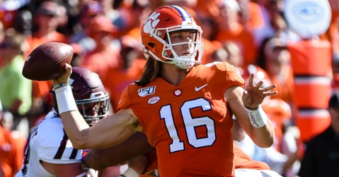 Trevor Lawrence hasn't put up Heisman numbers yet but this week could show that side of this 2019 campaign.