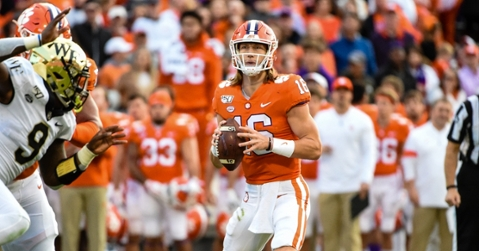 Trevor Lawrence leads four first-team honorees on offense.