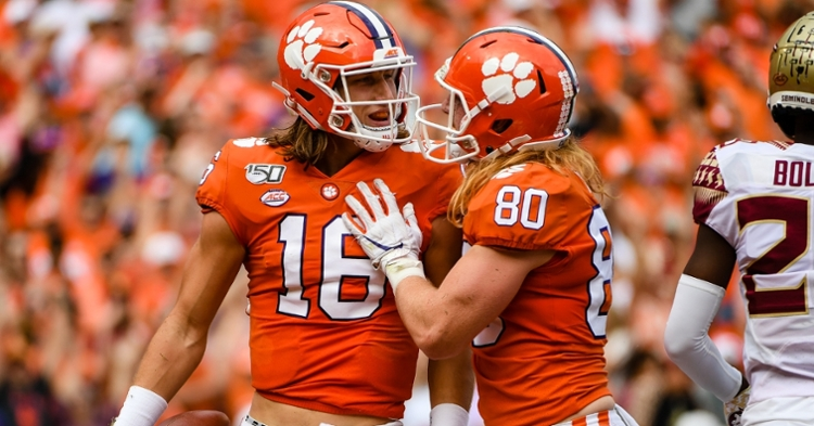 Clemson ranked No. 4 in updated AP Poll