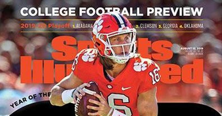 LOOK: Trevor Lawrence on Sports Illustrated cover