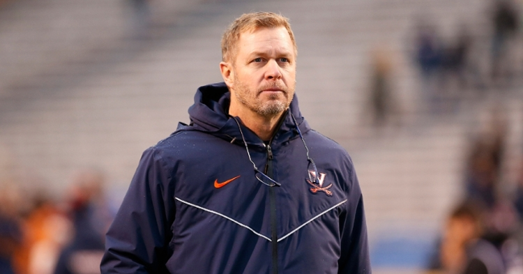 Bronco Mendenhall says the Cavs don't have any reference points against Clemson. (Photo: Amber Searls / USATODAY)