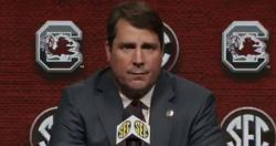 "Will Muschamp on Clemson: ""We're not the little brother"""