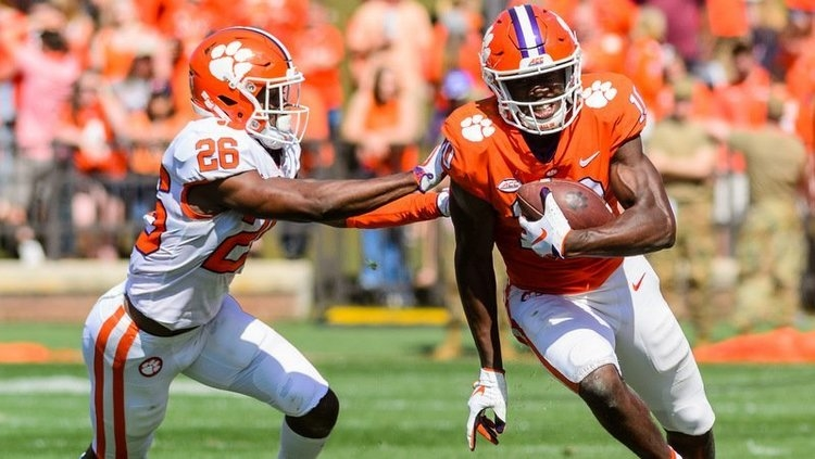Clemson's spring game will kick off on ACC Network at 1 p.m. Saturday.