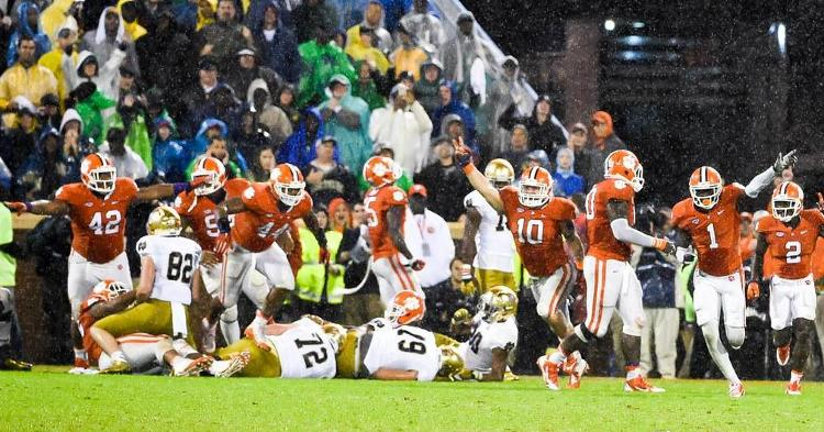 Clemson will try to make it 4 out of 5 lifetime against the Fighting Irish