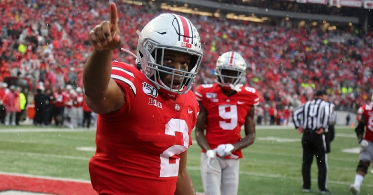 Ohio State is pointed towards the College Football Playoff again. (Photo by Joe Maiorana, USAT)