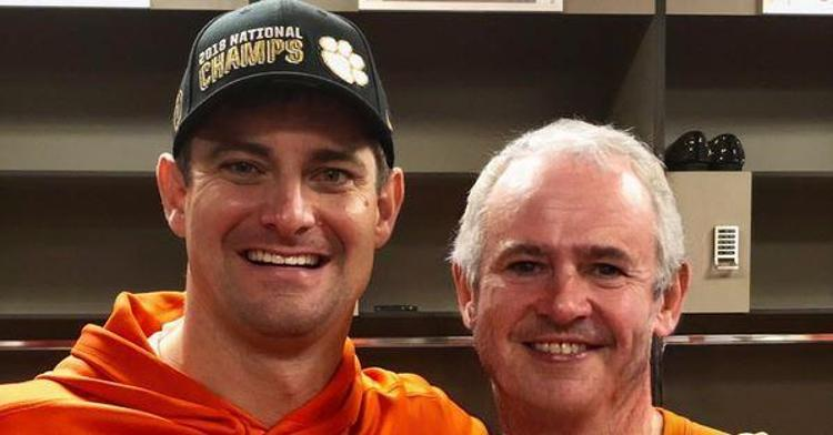 An old but happy looking Hunter Renfrow