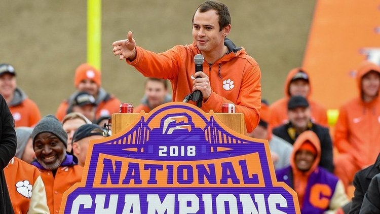 Hunter Renfrow says he is appreciative of his