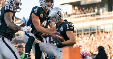 Renfrow has had a solid season with the Raiders (Kyle Terada - USA Today Sports)