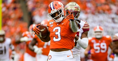 Clemson enters College Football Playoff top-four