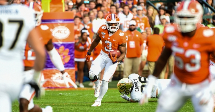 Rodgers cracked the top-15 nationally on punt returns after a 53-yard return on Saturday.