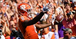 ESPN writer ranks Clemson WRs No. 2 in ACC