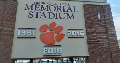 LOOK: Clemson adds new signage for 2018 title