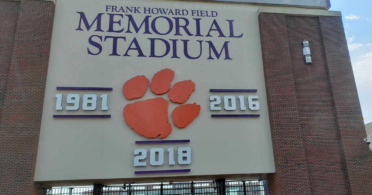 LOOK: Clemson adds new signage for 2018 title - TigerNet.com