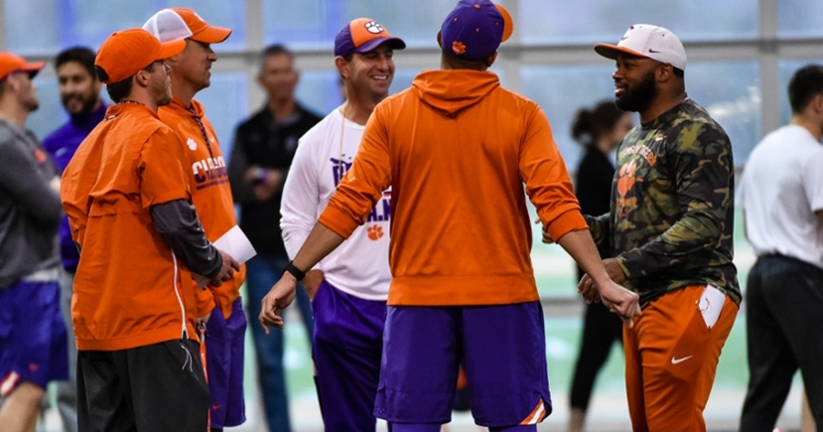 Clemson starts spring football practice Wednesday