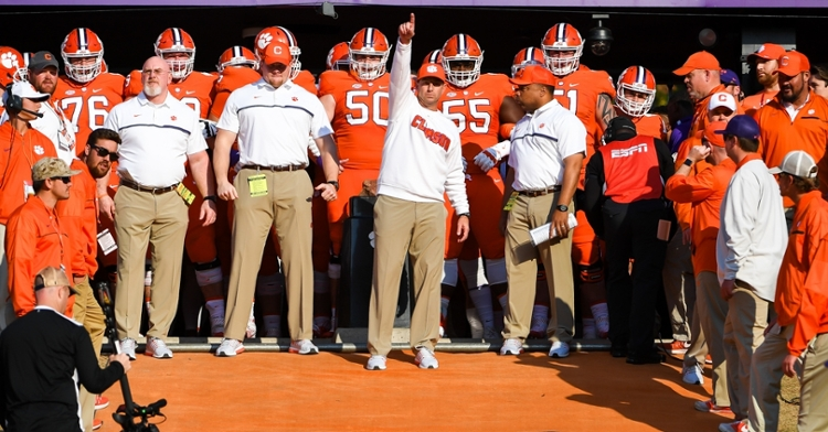 Swinney is one of the top coaches in college football