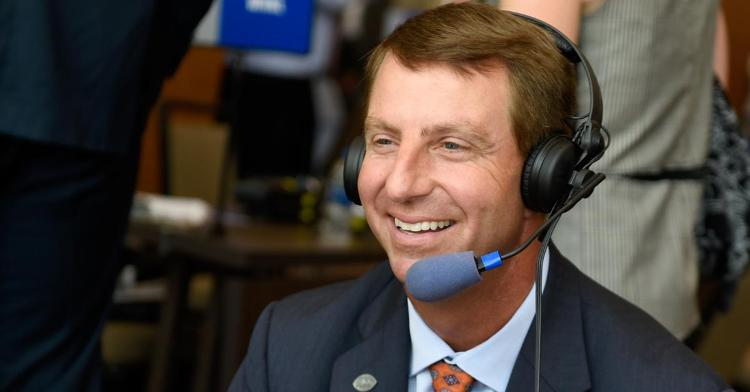 Swinney says his program has blossomed from the inside-out.