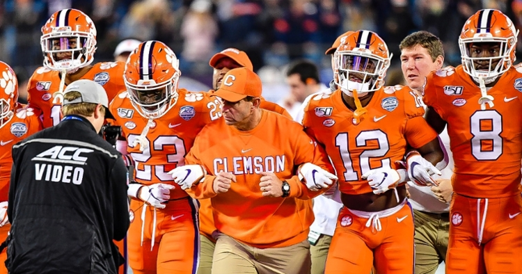 Clemson returns to the Playoff for a fifth consecutive year.