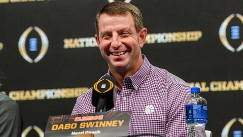 Swinney's wait-and-see approach to recruiting working to Tigers' advantage
