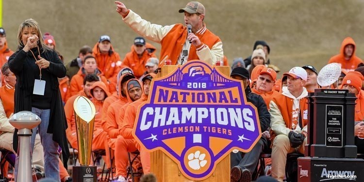 Clemson men's athletics tops Capital One Cup fall standings