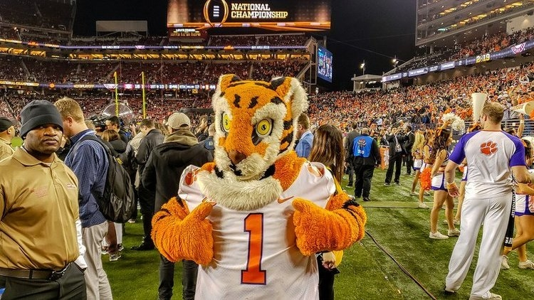 Clemson currently ranked third in Capital One Cup standings
