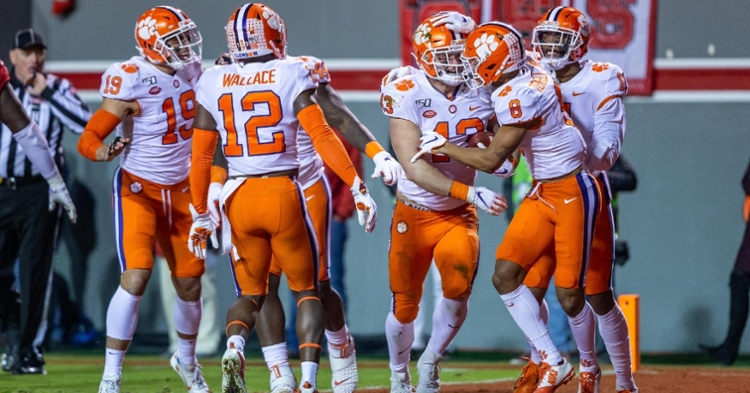The orange britches are for championship games.
