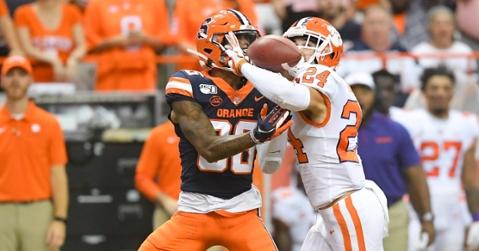 Turner makes a play at Syracuse a few weeks ago.