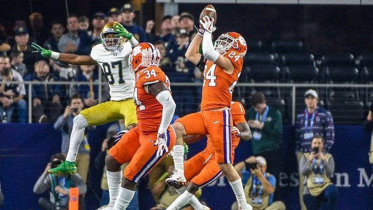Clemson handled Notre Dame with ease in their last matchup in the CFP.