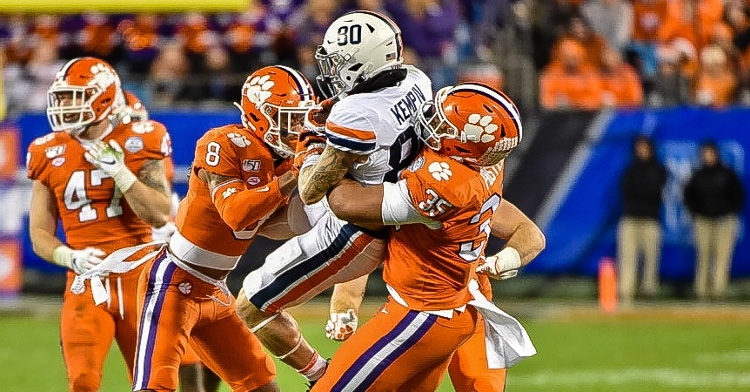 Clemson is No. 1 in total and scoring defense now.